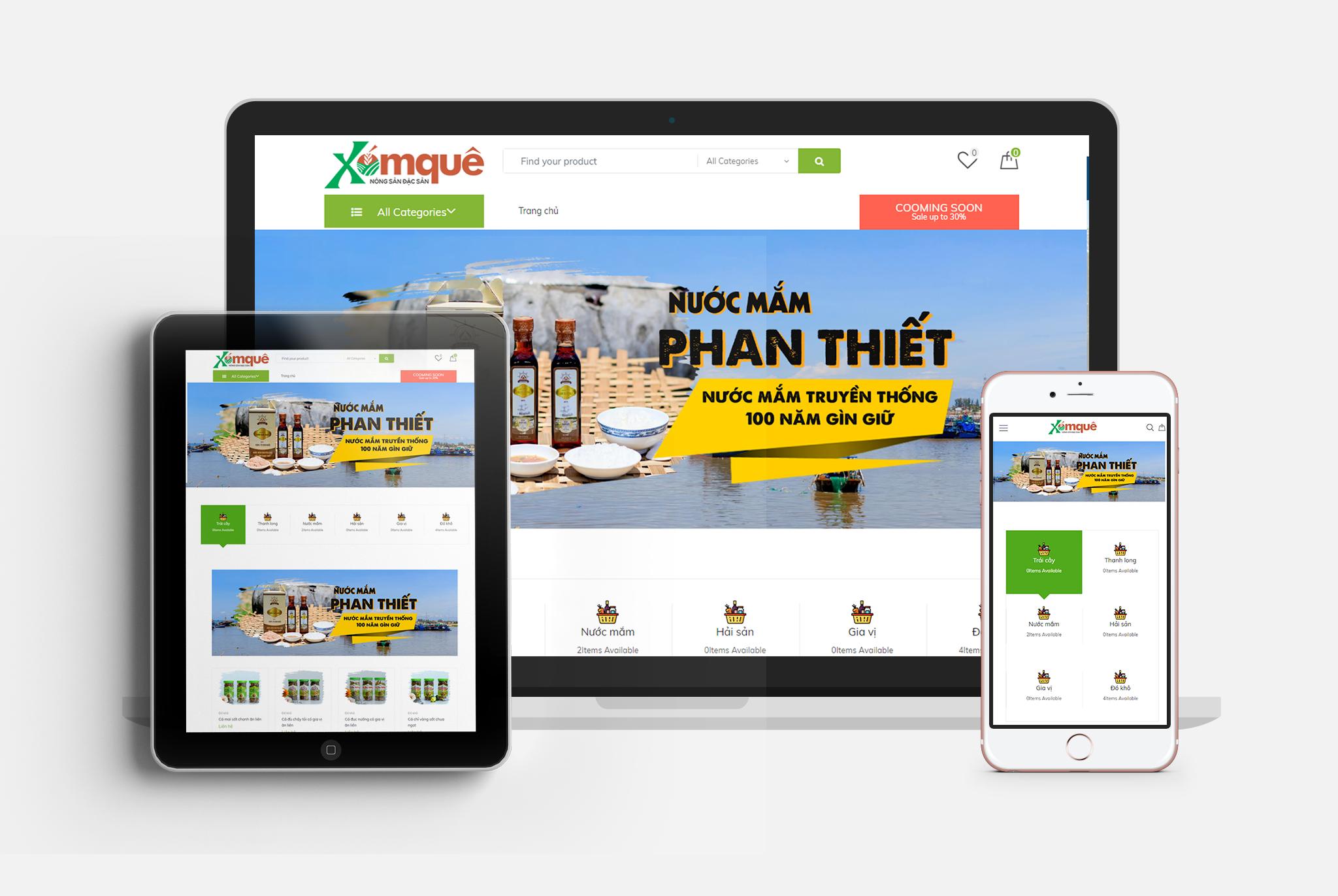 dịch vụ thiết kế website Bình Thuận