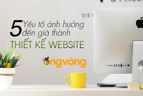 thiết kế website Ong Vàng